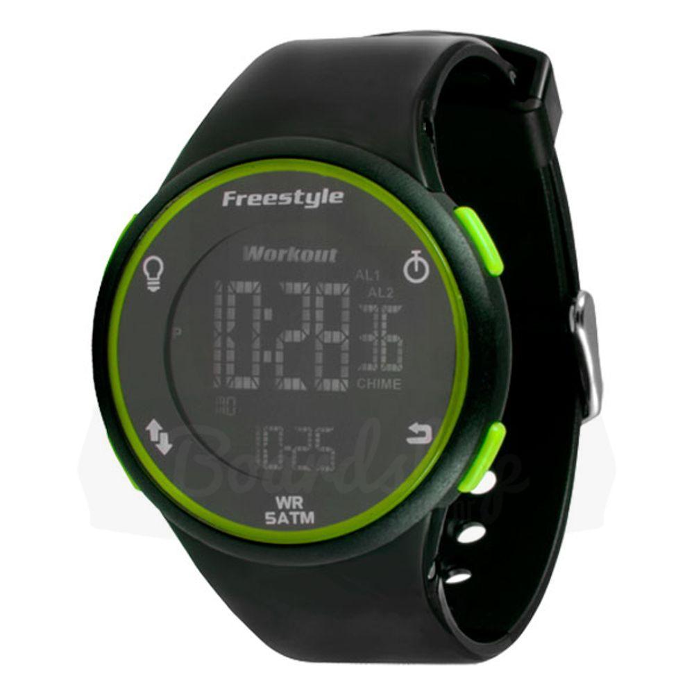 Relogio-Freestyle-Cadence---Black-Green