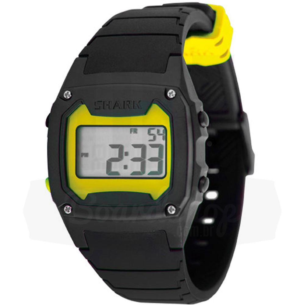 Relogio-Freestyle-Shark-Classic-Silicone-Yellow-Black