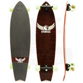 Longboard-Dregs-F1-Fiberweave-Red