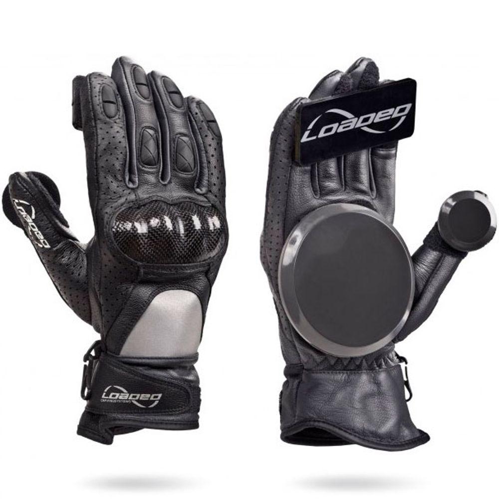 Luva-Loaded-Leather-Race-Black