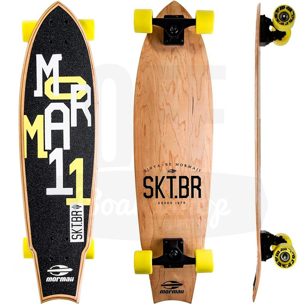 Skate-Cruiser-Mormaii-Fishtail-Wood