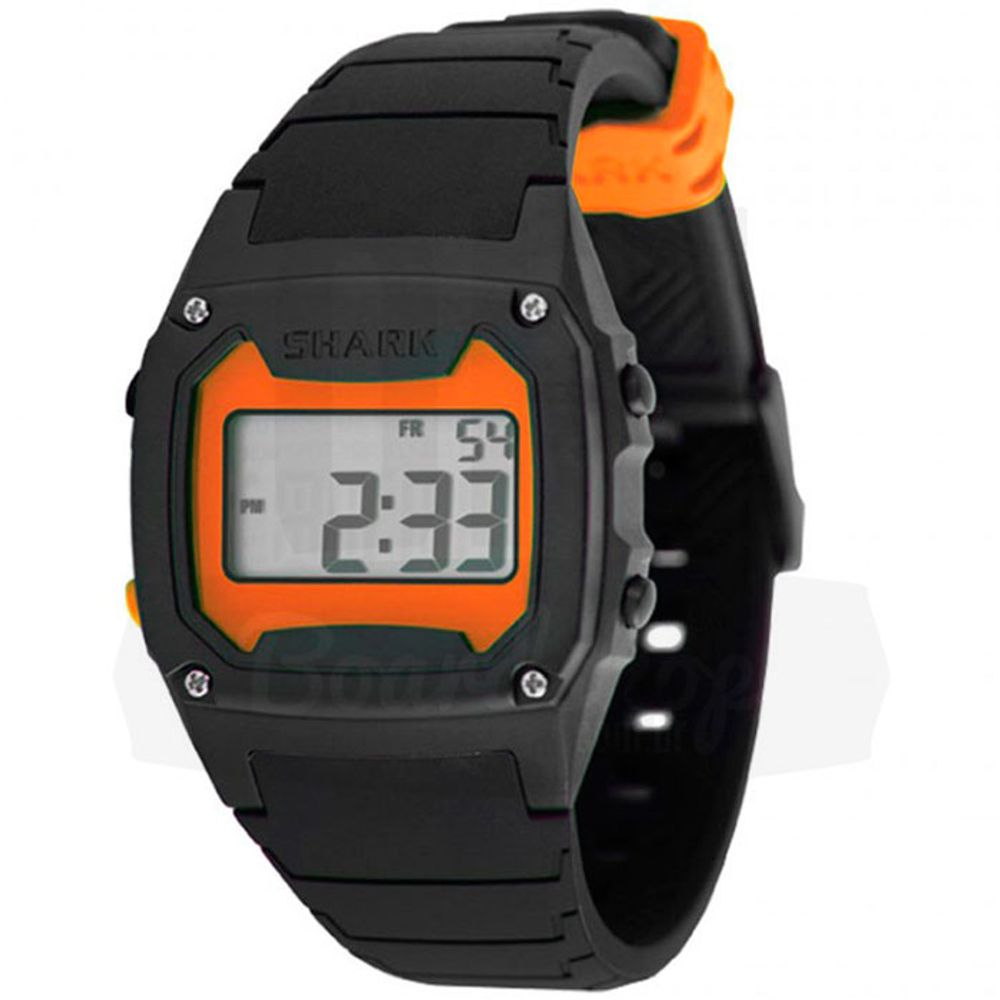 Relogio-Freestyle-Shark-Classic-Silicone---Orange-Black