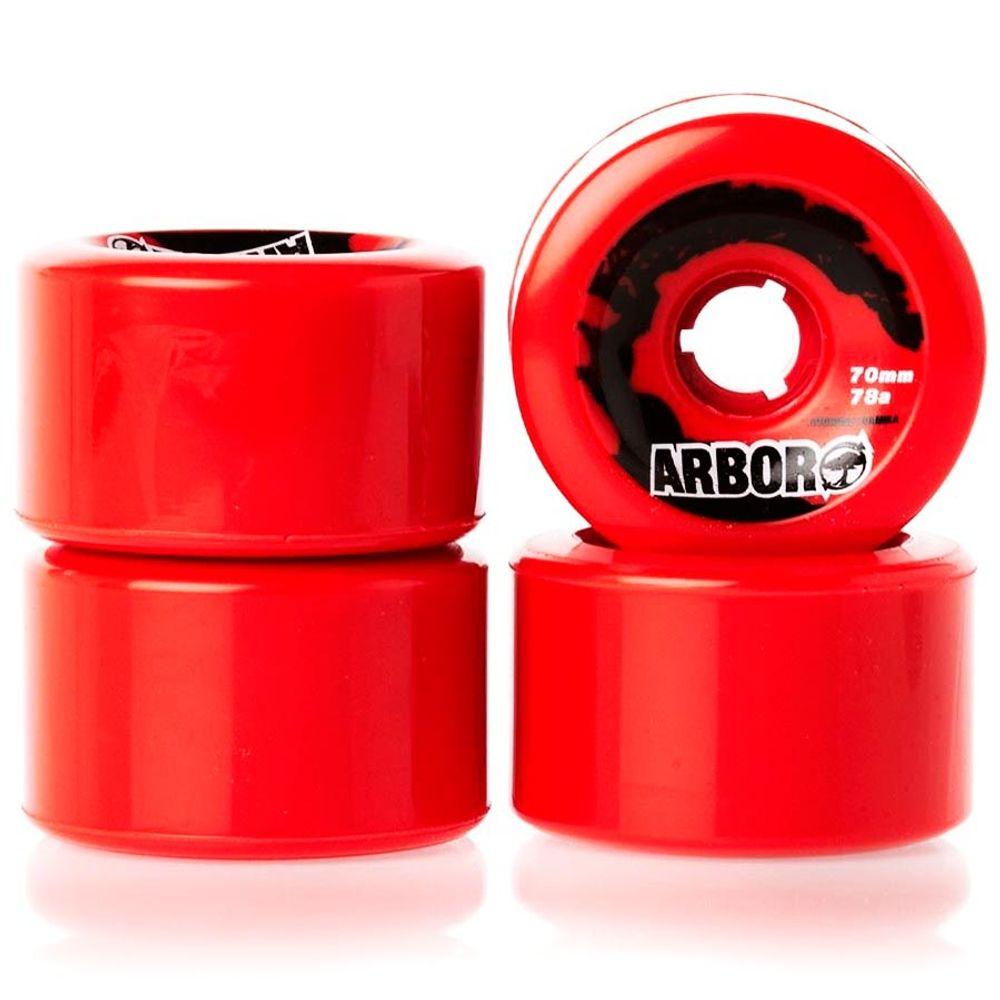 Roda-Arbor-Sucrose-Formula-70mm-78A-Red-01
