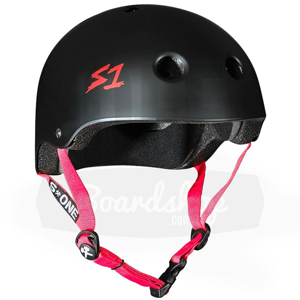 Capacete-S-One-Lifer-Black-Matte-Red-Strapes