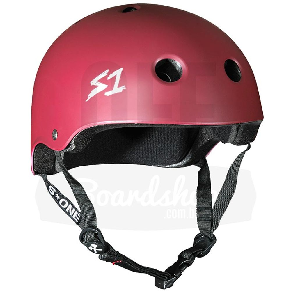Capacete-S-One-Lifer-Maroon-Matte