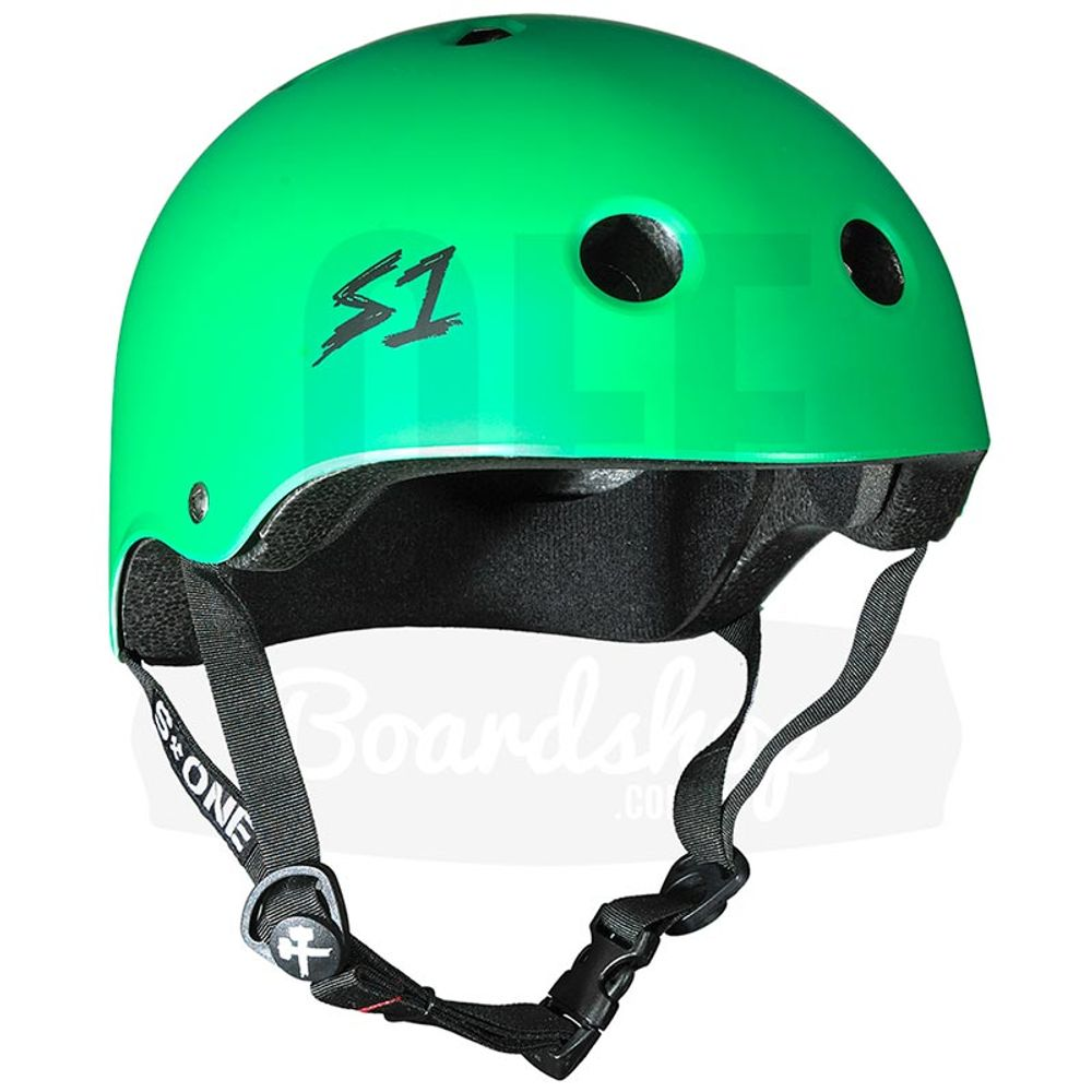 Capacete-S-One-Kelly-Green-Matte