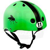 Capacete-S-One-Lifer-Green-Matte-Abec11-Stripe