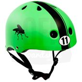 Capacete-S-One-Lifer-Green-Matte-Abec11-Stripe