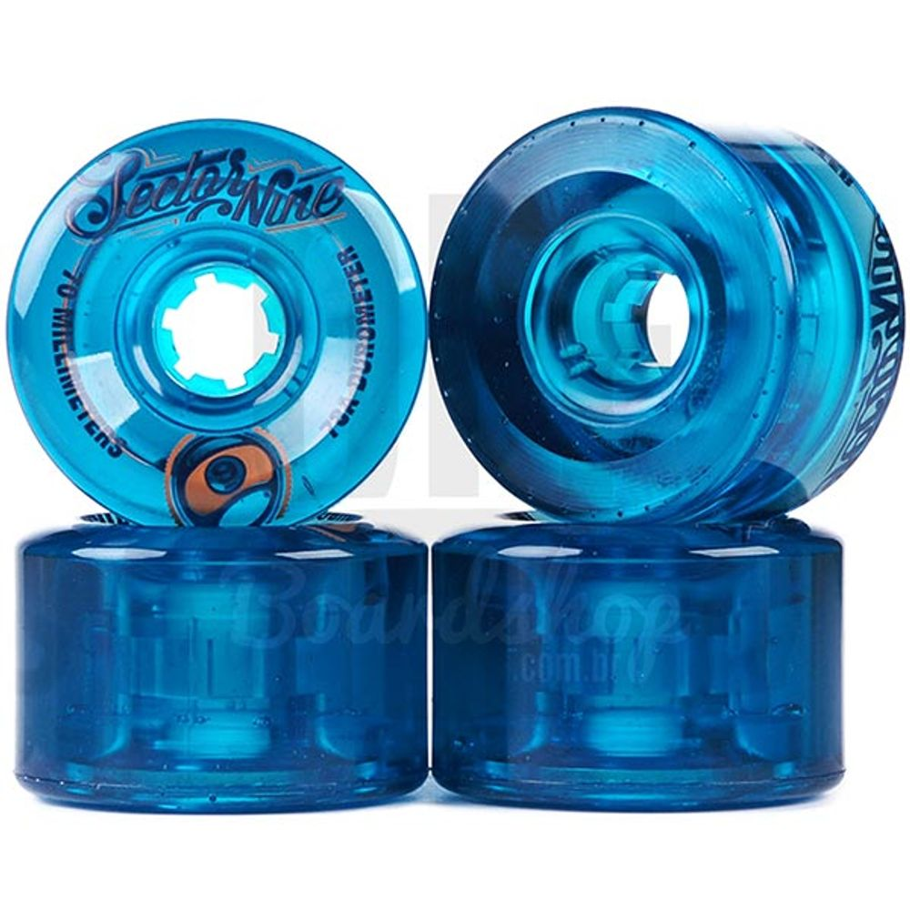 Roda-Sector-9-Top-Shelf-70mm-78A-Blue