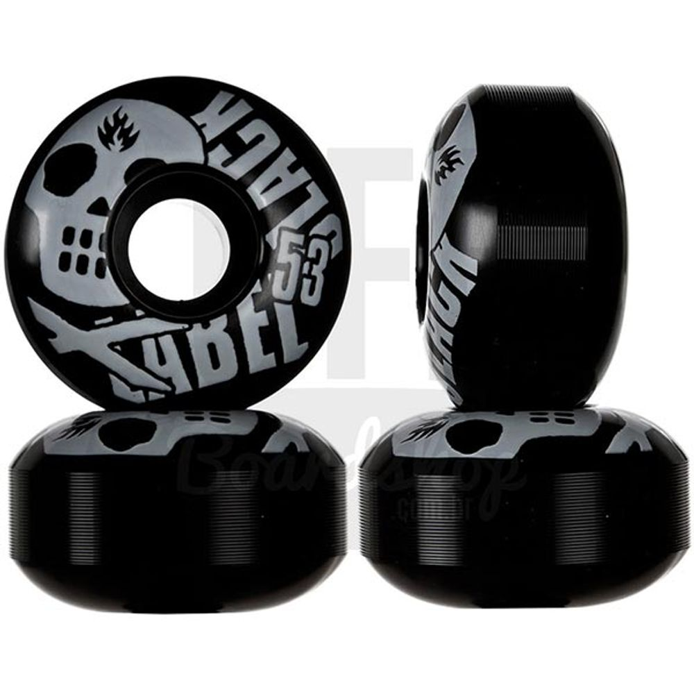 Roda-Black-Label-Skull-Black-53mm-100A