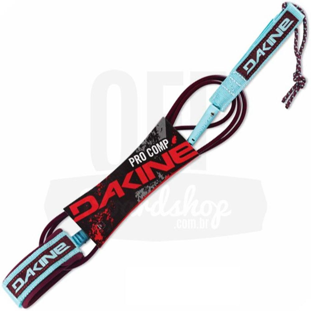 Leash-Dakine-Kainui-Pro-Comp-6-x-5mm-Garnet