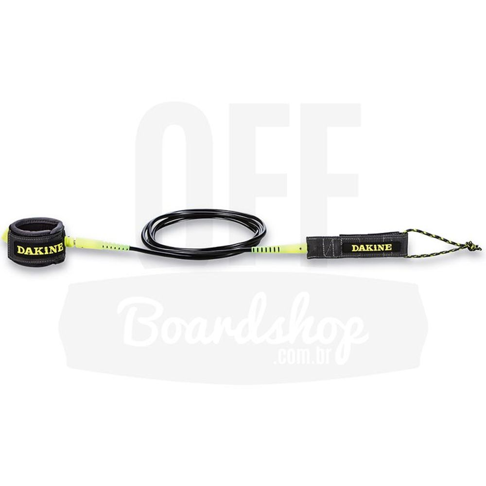 Leash-Dakine-Long-Kainui-Tornozelo-9-x-6-5mm-Gunmetal