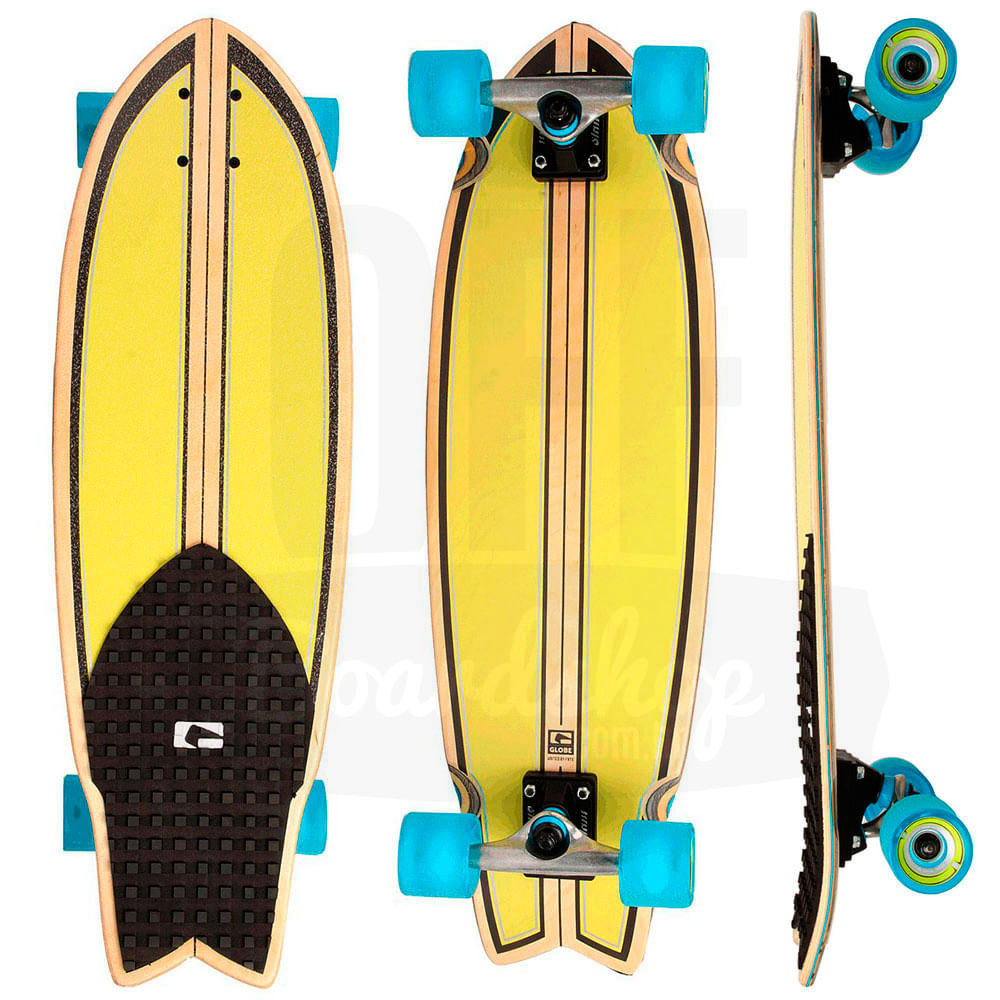 Longboard-Globe-Dart-Lime-Punch-30-