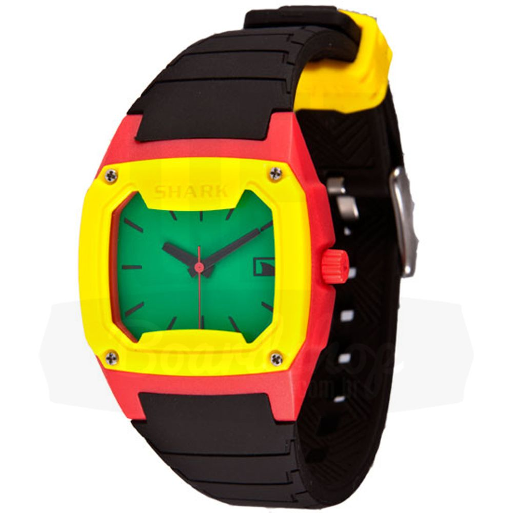 Relogio-Freestyle-Shark-Classic-Analogico---Red-Green-Yellow