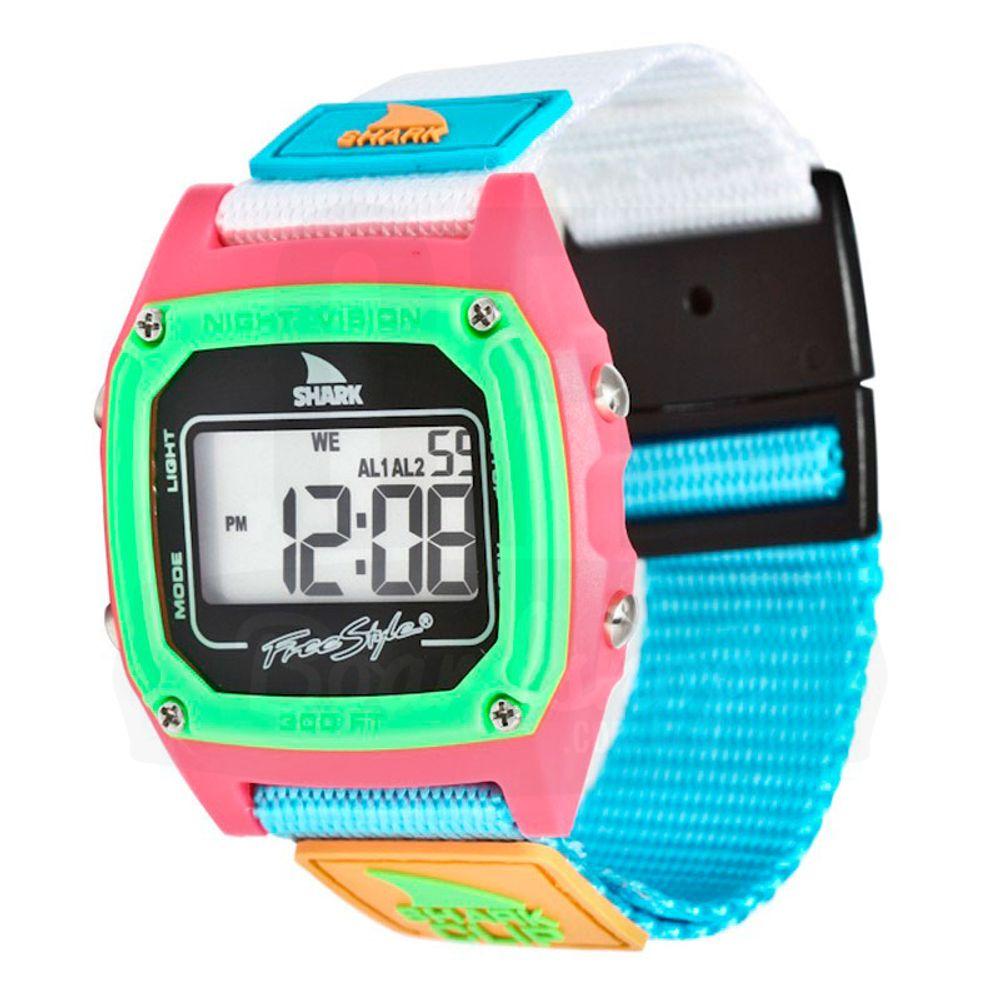 Relogio-Freestyle-Shark-Classic-Clip---Black-Neon