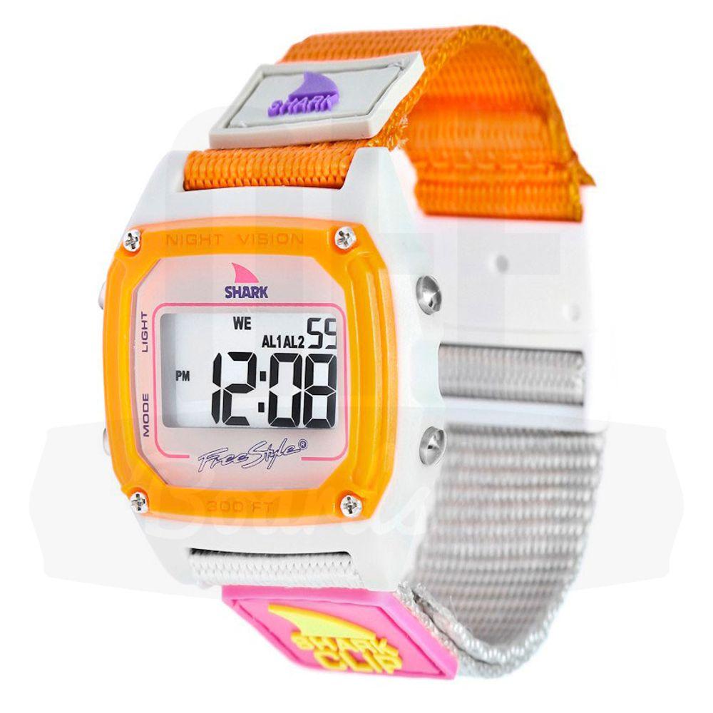 Relogio-Freestyle-Shark-Classic-Clip---Taupe-Neon