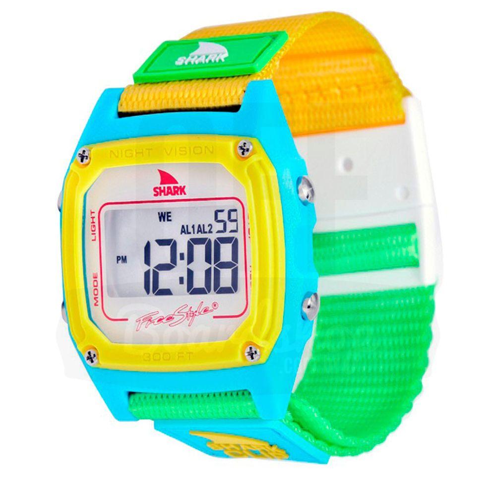 Relogio-Freestyle-Shark-Classic-Clip---White-Neon