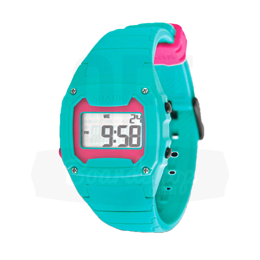 Relogio-Freestyle-Shark-Classic-Silicone---Pink-Green