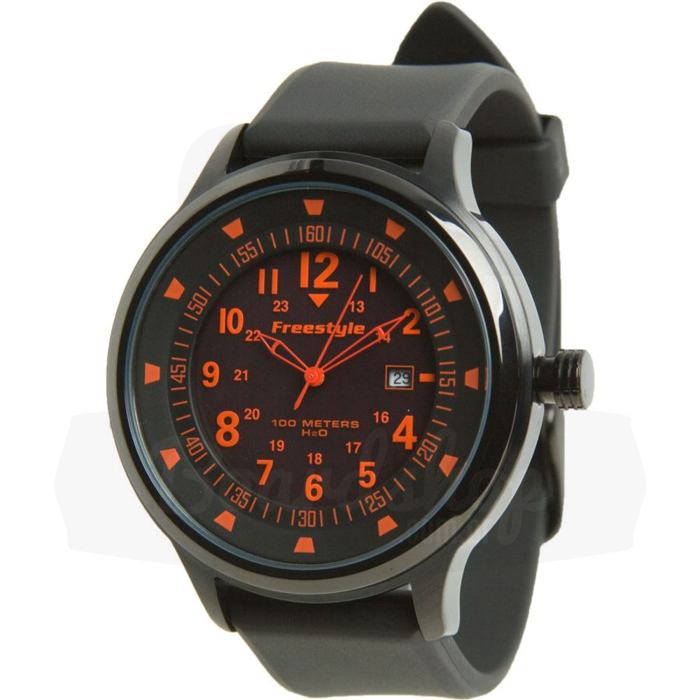 Relogio-Freestyle-The-Ranger-XL---Grind-Black-Red-Dial