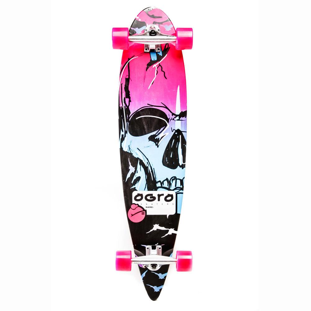 Longboard-Ogro-Skull
