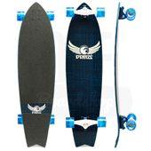 Longboard-Dregs-F1-Fiberweave-Blue