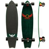 Longboard-Dregs-F1-Fiberweave-Green