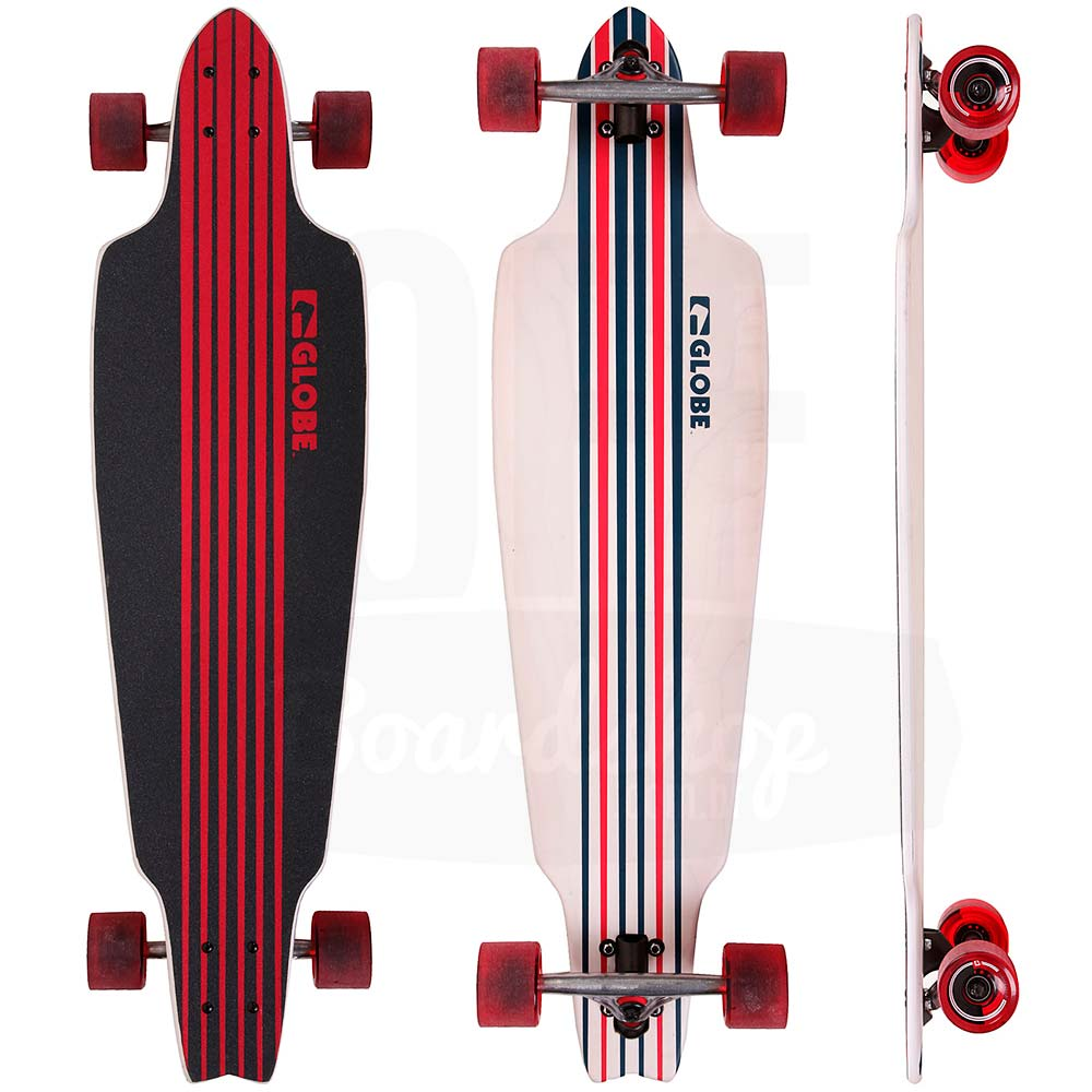 Longboard-Globe-Prowler-White-Blue-38