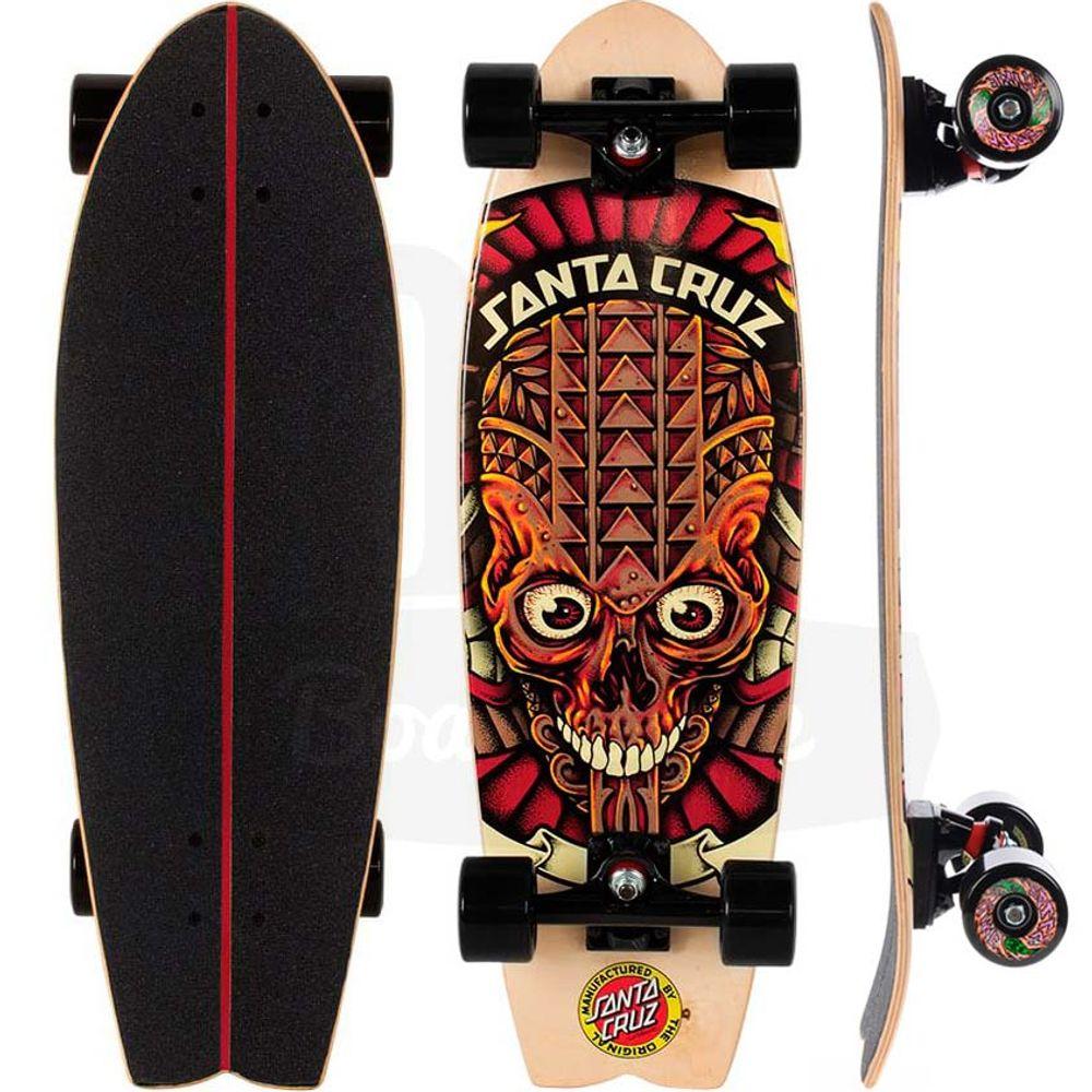 Skate-Cruiser-Santa-Cruz-Tiki-Skull-Shark-27