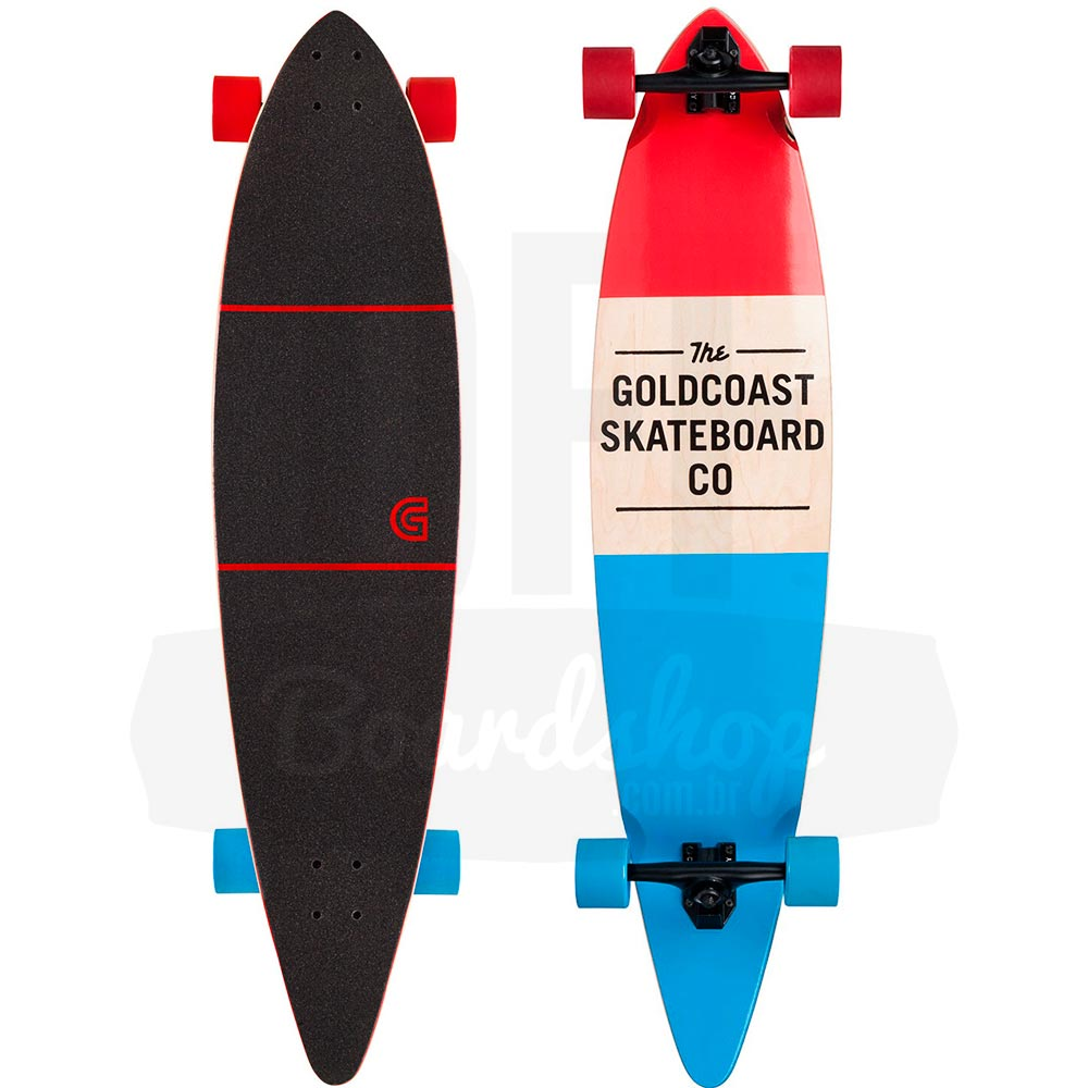 Longboard-Goldcoast-The-Standard-Red