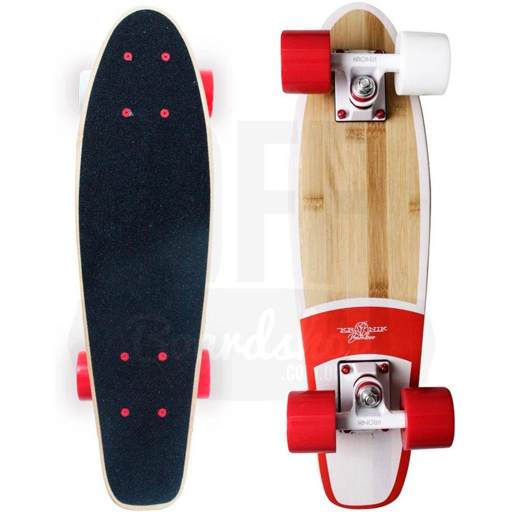 skate-cruiser-kronik-bamboo-red