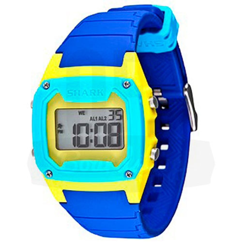 Relogio-Freestyle-Shark-Classic-Silicone---Blue-Yellow-Cyan