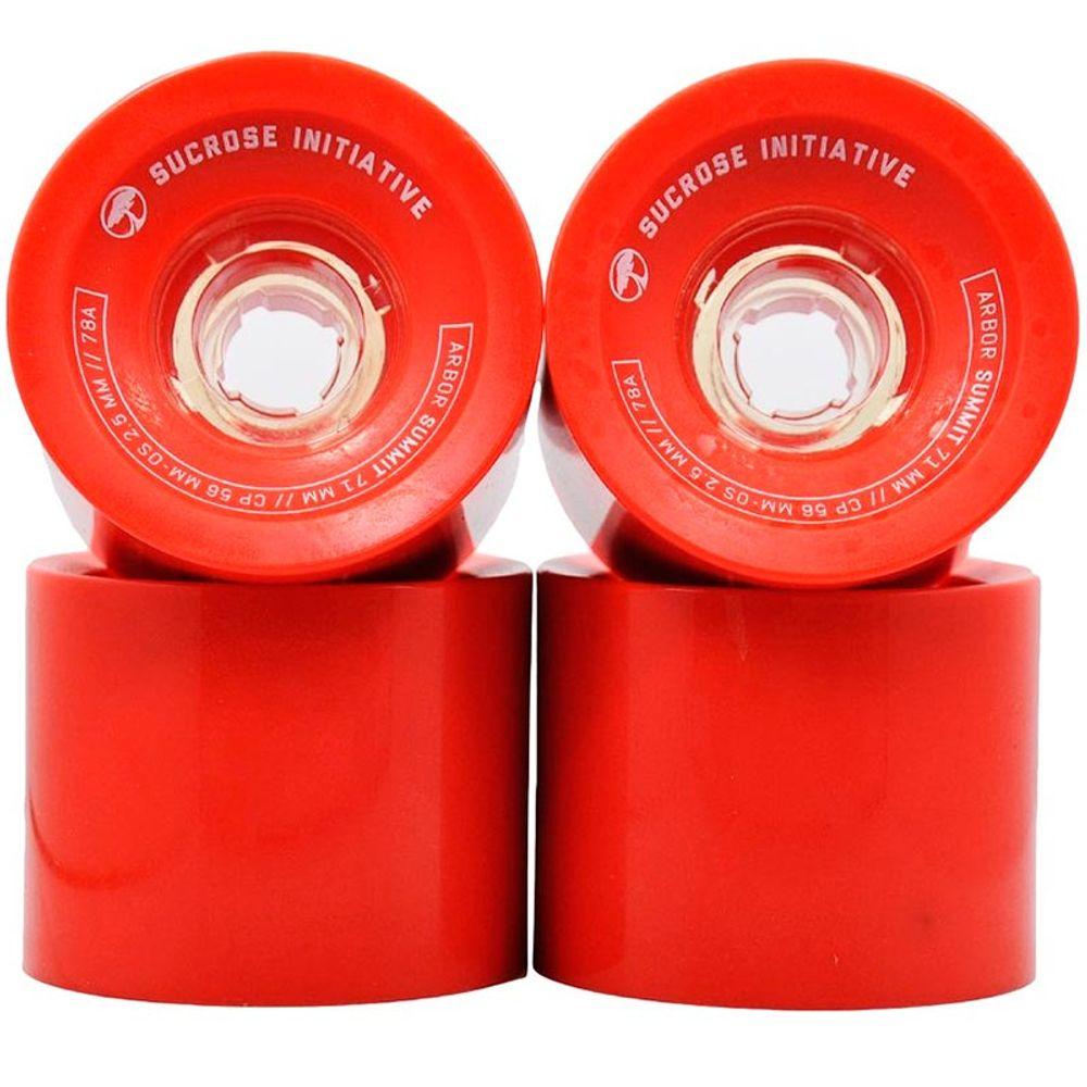 Roda-Arbor-Summit-71mm-78A-Red-01