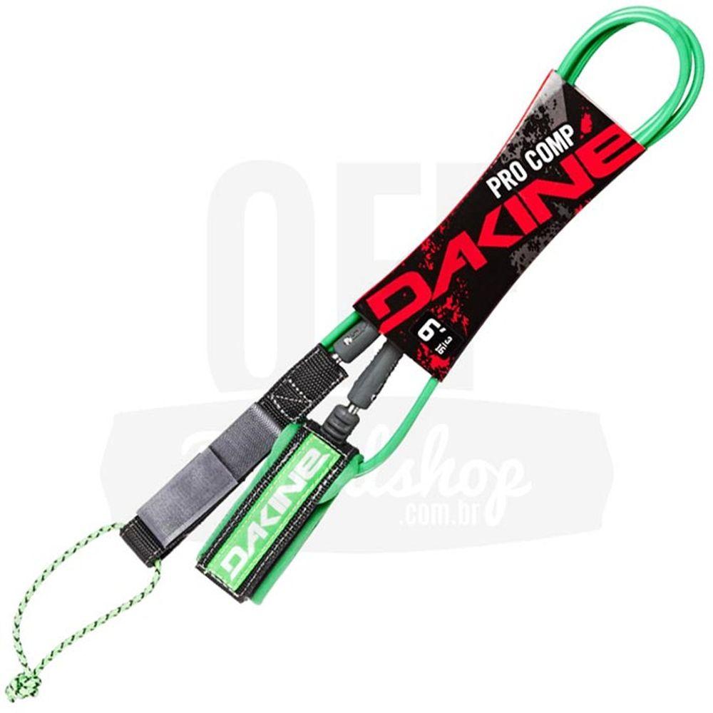 Leash-Dakine-Kainui-Pro-Comp-6-x-5mm-Neon-Green