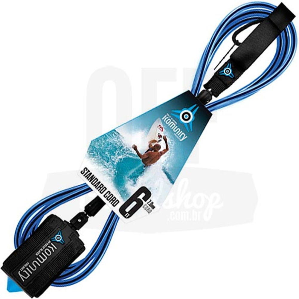 Leash-Komunity-Standard-6-x-7mm-Azul