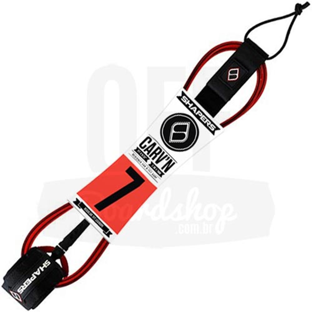 Leash-Shapers-Fins-CarvN-7-x-7mm-vermelho