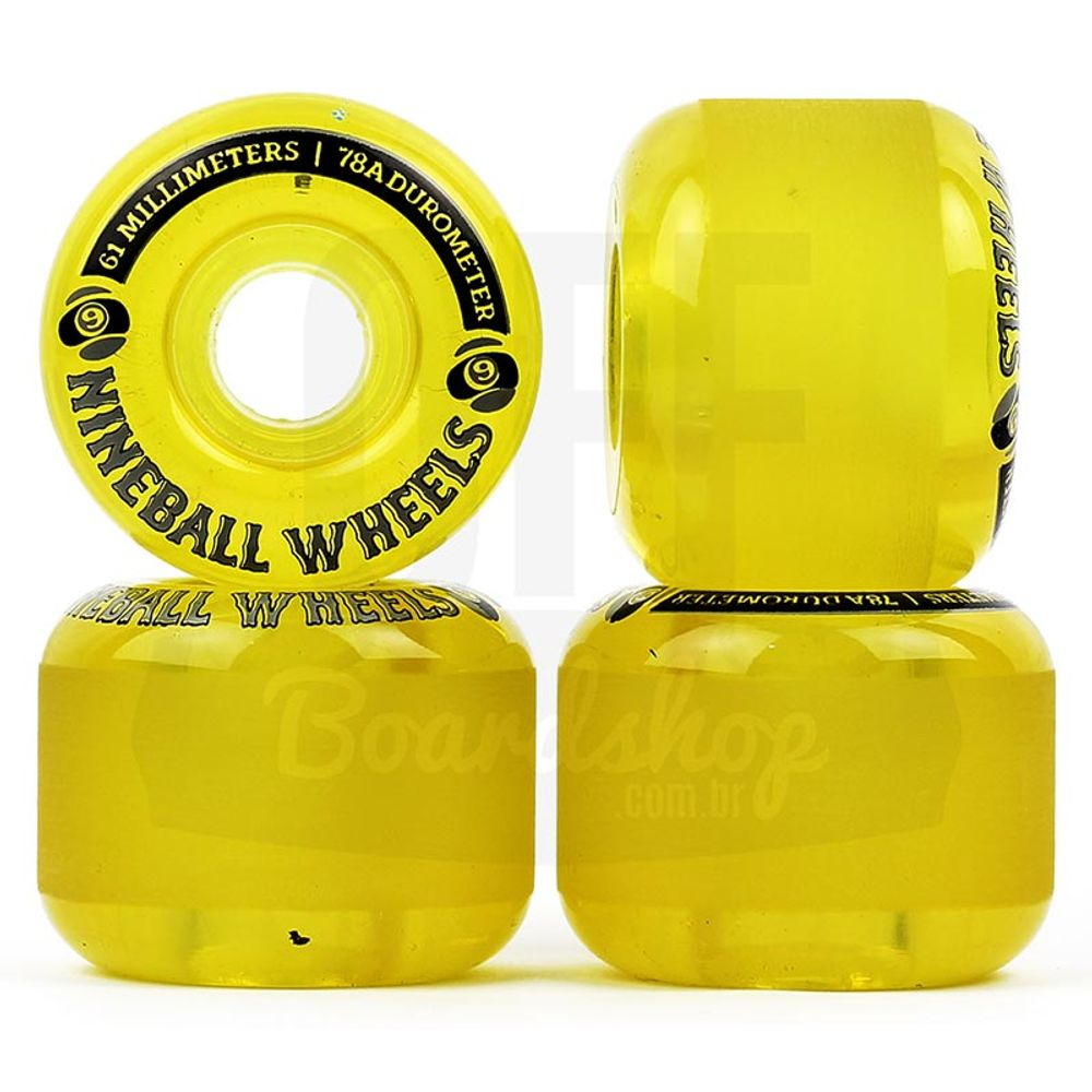 Roda-Sector-9-Nineballs-61mm-78A-Yellow