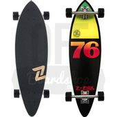 Longboard-Z-Flex-Mini-Rasta-Black-Pintail-32