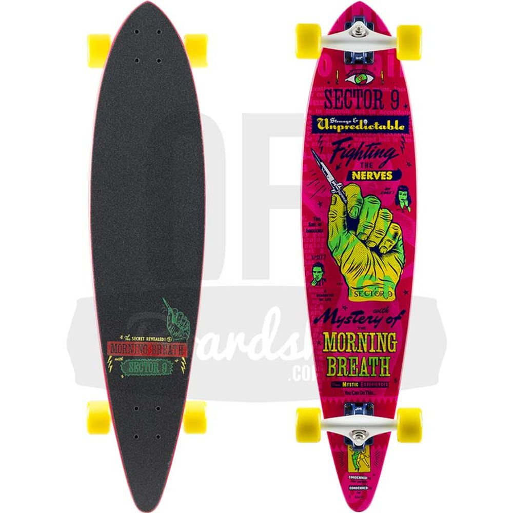 Longboard-Sector-9-Switchblade-Pink-38
