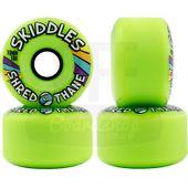 Roda-Sector-9-Skiddles-70mm-78A-Green