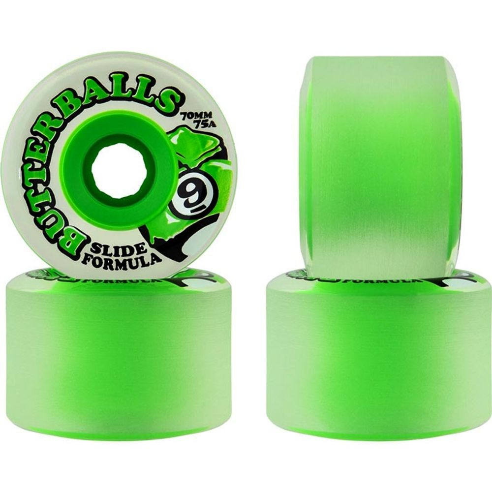 Roda-Sector-9-Butterballs-70mm-75A-Green