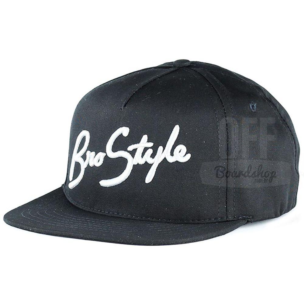Bone-Bro-Style-Script-Snapback-Black