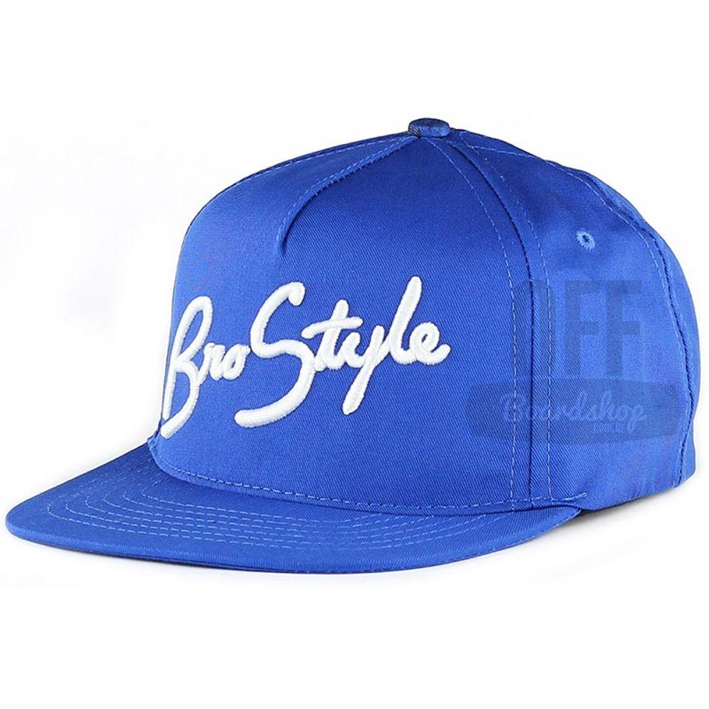 Bone-Bro-Style-Script-Snapback-Blue