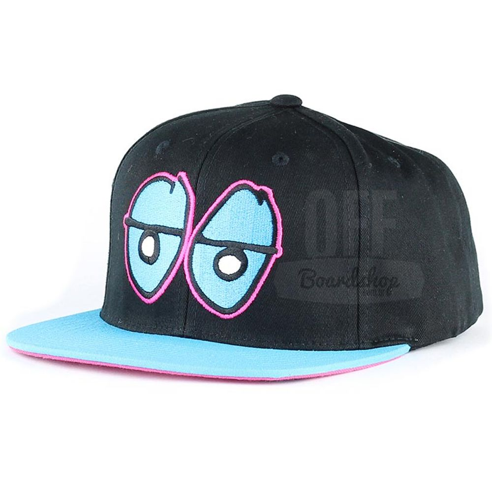 Bone-Krooked-Eye-Snapback-Azul