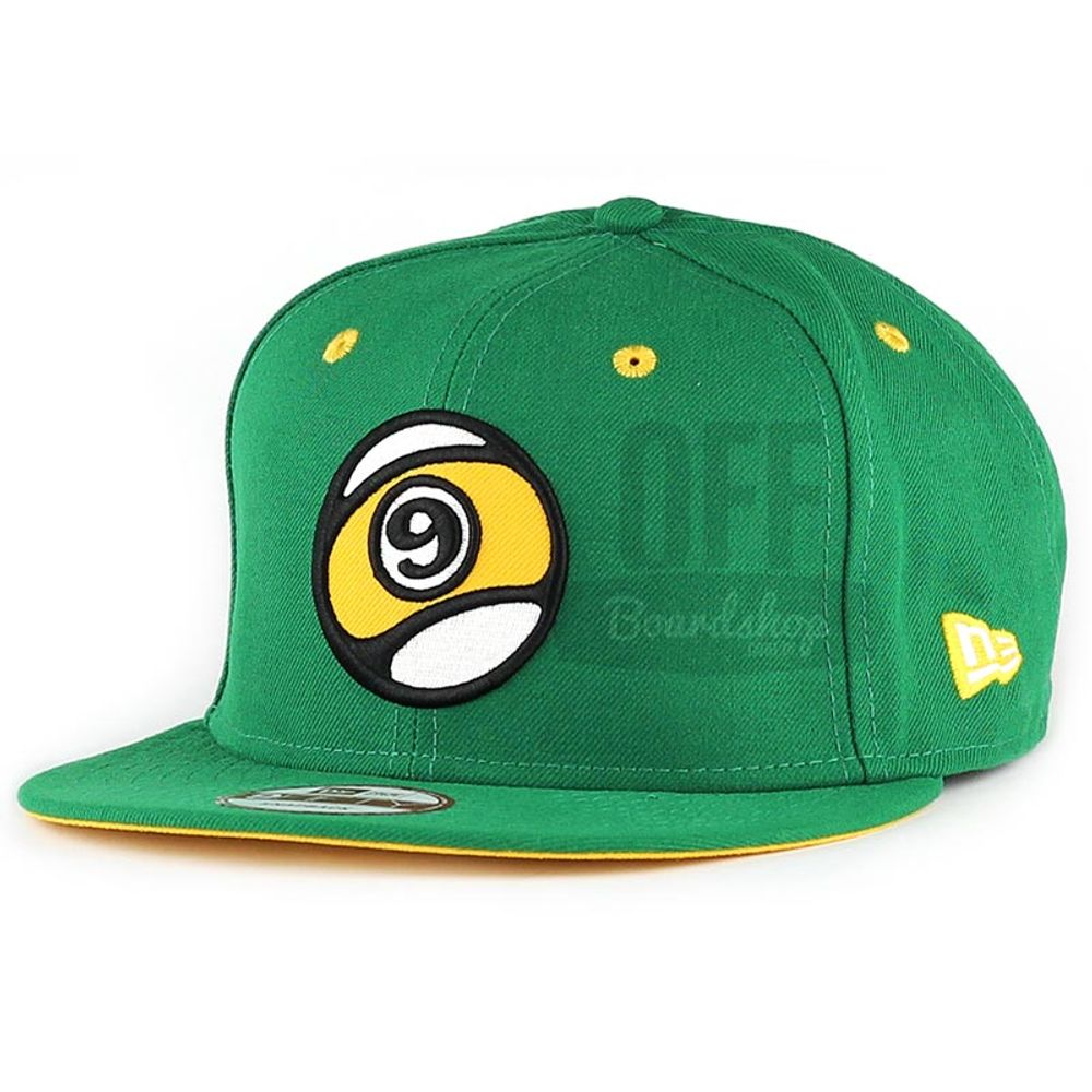 Bone-Sector-9-Ball-Snapback-Green