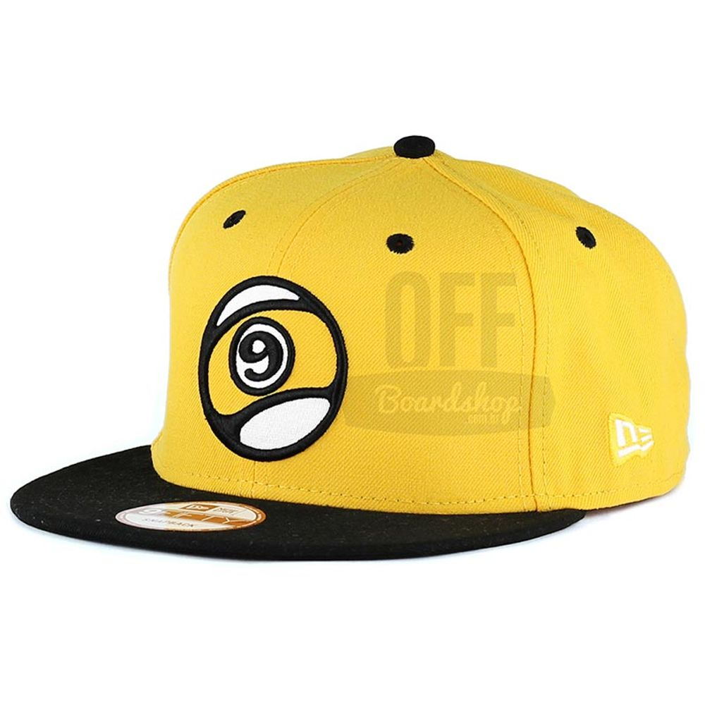 Bone-Sector-9-Ball-Snapback-Yellow