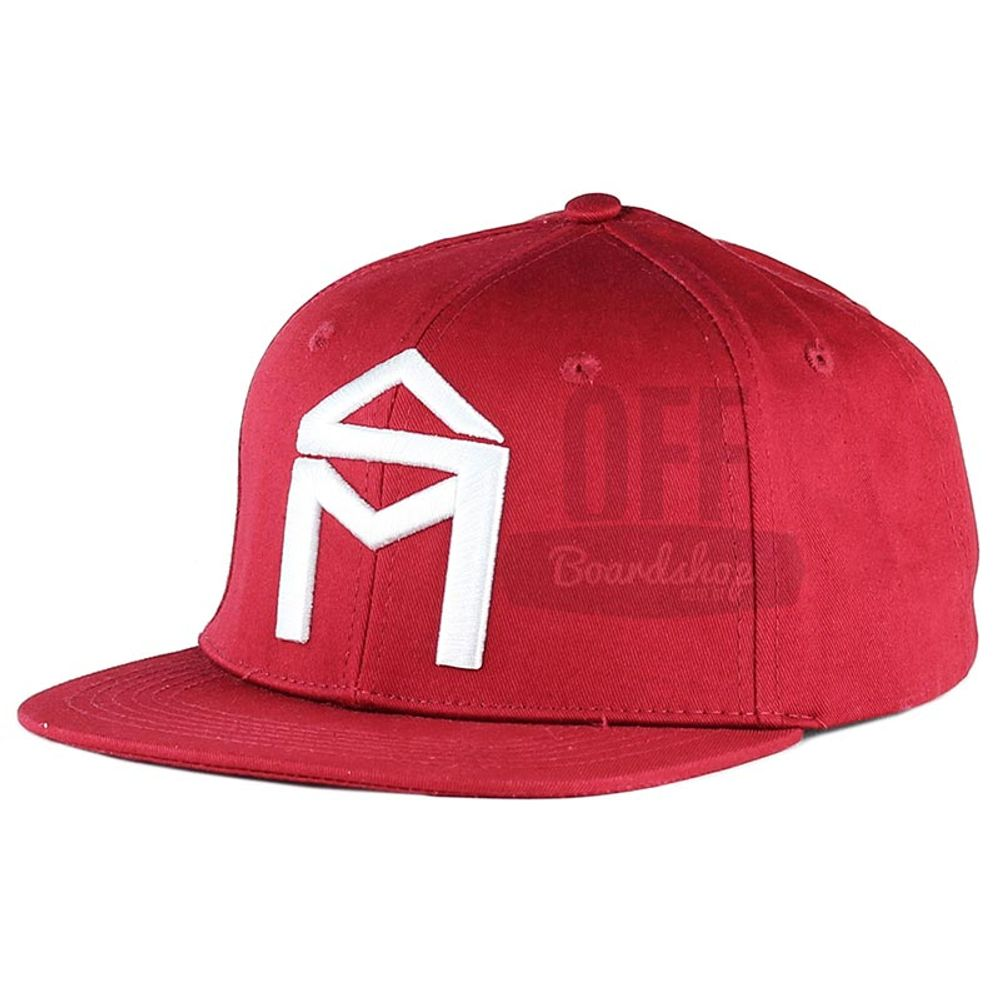 Bone-Sk8-Mafia-House-Snapback-Red