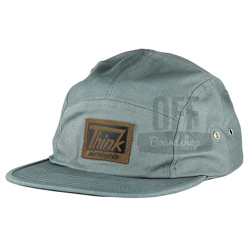 Bone-Think-Patch-Five-Panel-Cinza