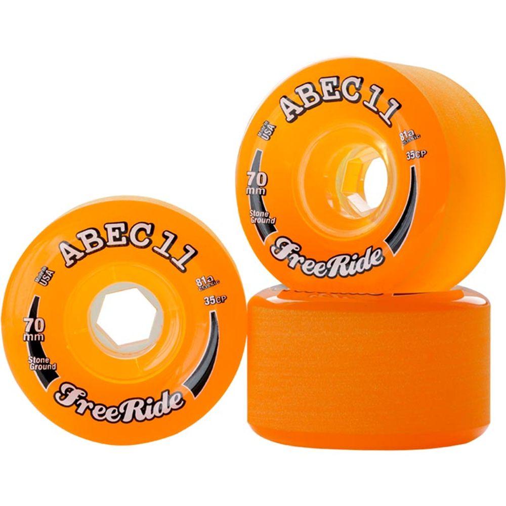 Roda-ABEC-11-Classic-Freeride-Stone-Ground-70mm-81A-Amber-001.jpg
