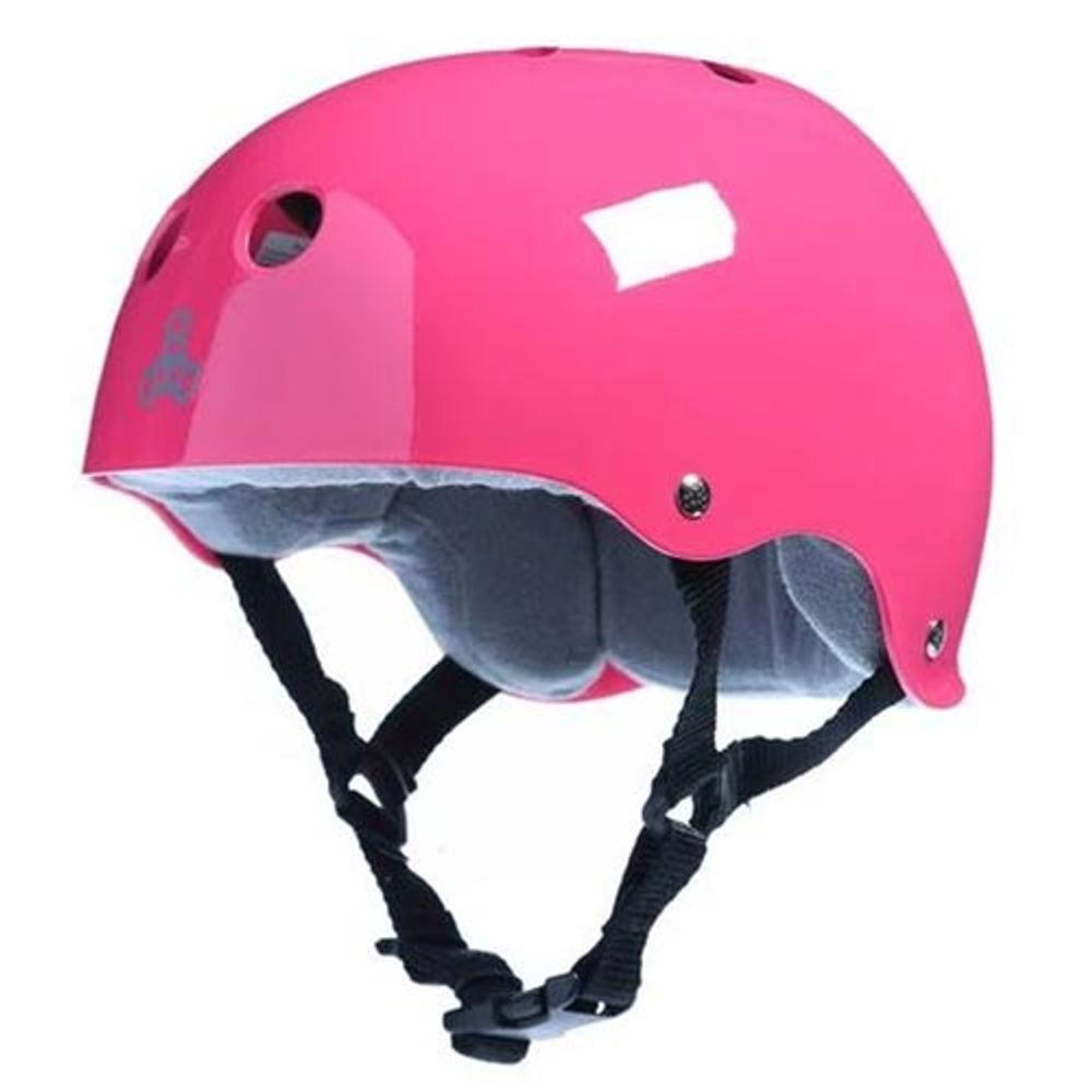 Capacete-Triple-Eight-Sweatsaver-Glossy-Pink