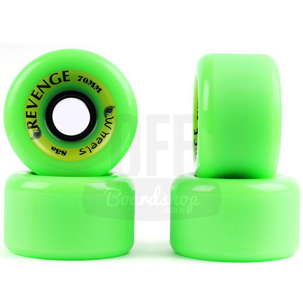 Roda-Revenge-Freeride-70mm-83A---Verde